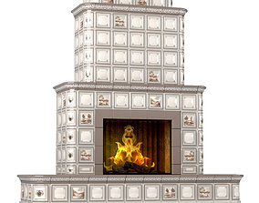 3D Ceramic Fireplace