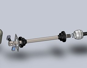 Manual Transmission for ATV 3D model