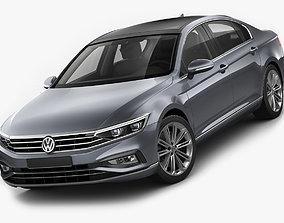 3D model VW Passat 2020