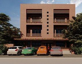 3D printable model Apartment Building Concept