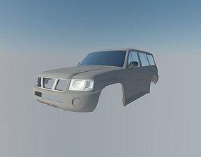 Nissan Patrol 3D printable model