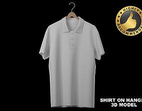 apparel 3D Shirt on hanger