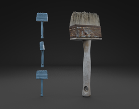 3D model Scanned Brush HIGH POLY