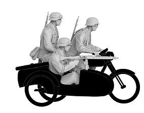 3D print model german motorcycle team