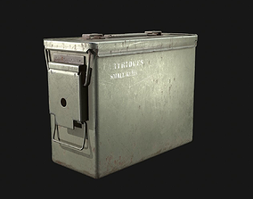 Ammo Box 3D model game-ready