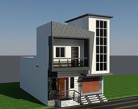Elevation 3D print model
