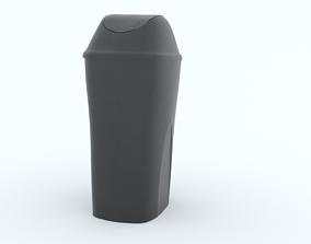 Garbage Bin sack 3D asset