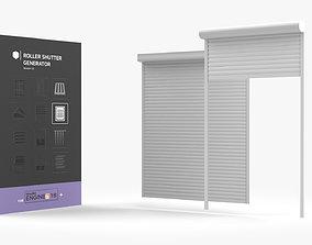 Roller Shutter Generator HDA 3D asset