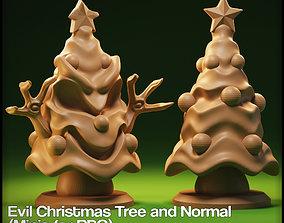 3D printable model Evil Christmas Tree Miniature for 2
