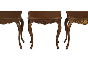 3D asset Classic side table 700