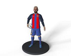 argentina ball Lionel Messi 3d printable model