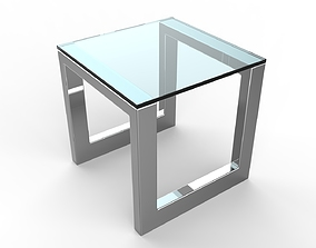 3D Oslo Side Table Big