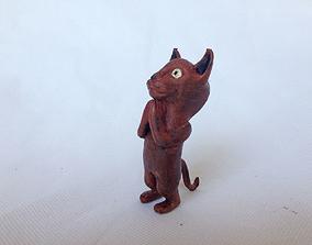 3D printable model Begging Cat