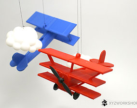 3D printable model Red Barron Baby Mobile