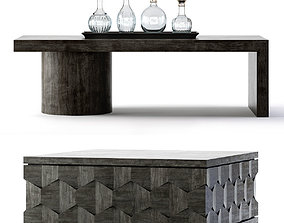 Bernhardt Linea Cocktail Tables 3D