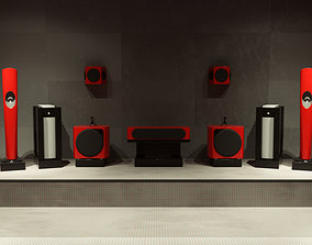 3D Speakers Set