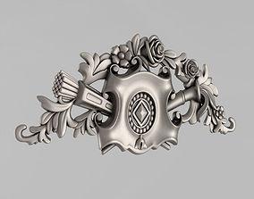 arm Cartouche 3D print model