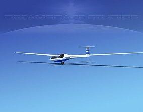 3D Glaser Dirks DG200 15Mtr Sailplane V01