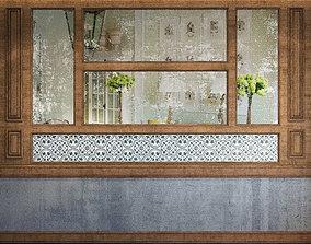 3D Wall Panel Set 76 bar