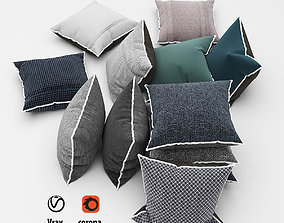 Pillows collection 53 3D model