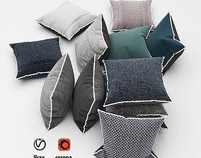 Pillows collection 53 doannguyen 3D model
