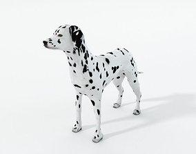 3D asset game-ready Dalmatian