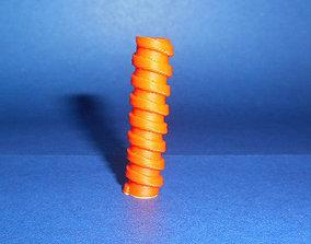 Auger valve 3D printable model
