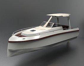 3D asset Yacht 14 M