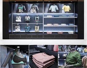 3D Clothes shop athletic wear 02