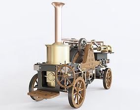 3D model Patrick Stirling Steam Traction Engine