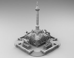3D printable model Monument on the square