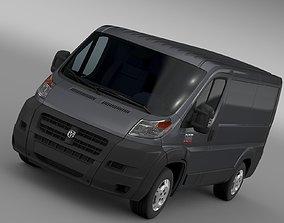 Ram Promaster Cargo 1500 LR 118WB 2015 3D