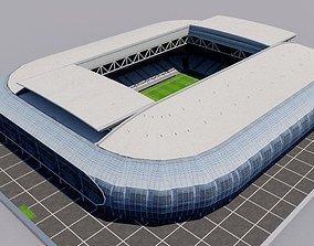 Stade Pierre-Mauroy - Lille - France 3D model