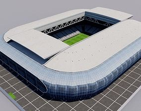 3D asset Stade Pierre-Mauroy - Lille - France