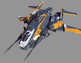 Space Fighter Ripper 3D model