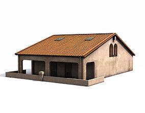 3D asset Small House