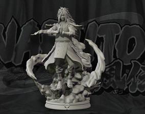 Madara Uchiha Diorama - Naruto Shippuden 3D Print Statue