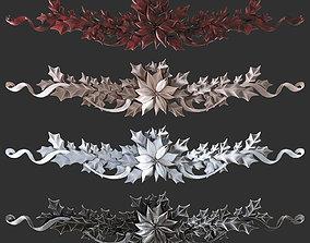 3D print model leaves