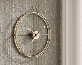 Minimalist Wall Clock 3D