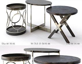 3D Bernhardt Clarendon Round End Table