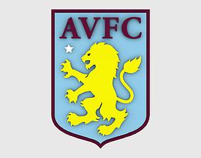 3D model Aston Villa Logo