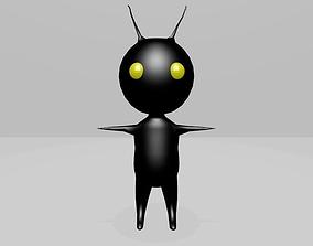 Heartless Shadow 3D Models