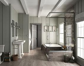 Bathroom Furniture door 3D model