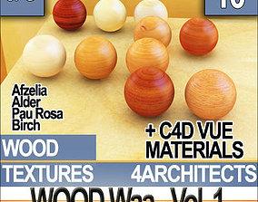 3D model Wood and Materials Vol 1