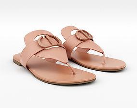 3D 30 Montaigne Flat Thong Sandal