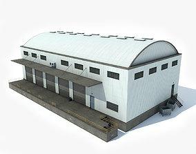 Warehouse 3 3D asset game-ready