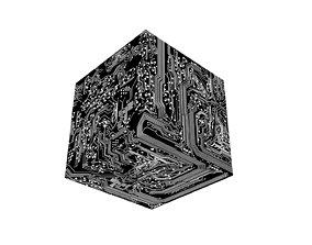 3D asset Circuit Cube