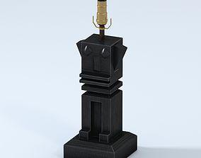 3D Cavalier by Jay Jeffers Folk Art Table Lamp