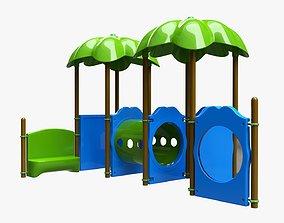 Kids playground outdoor 03 3D model
