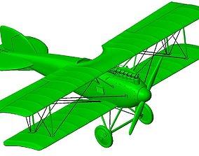 Albatros D II biplane 3D print model